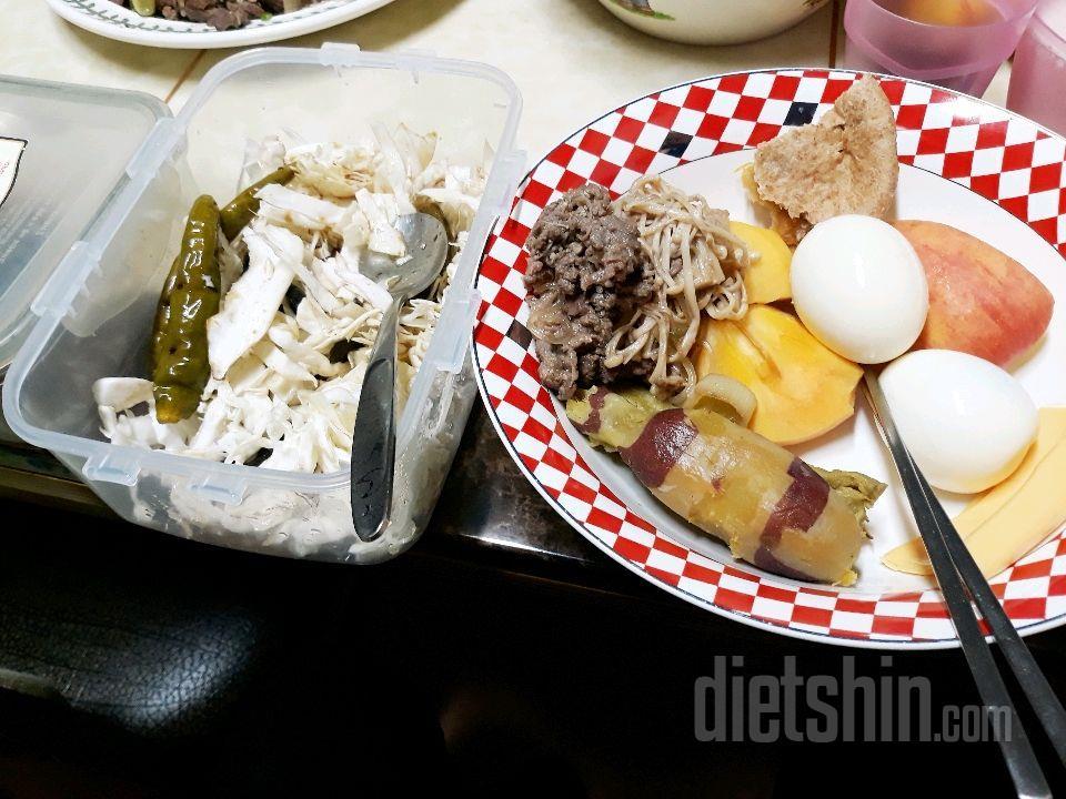 아침식단  다이어리에 몇카로리인지 올리는 숙제