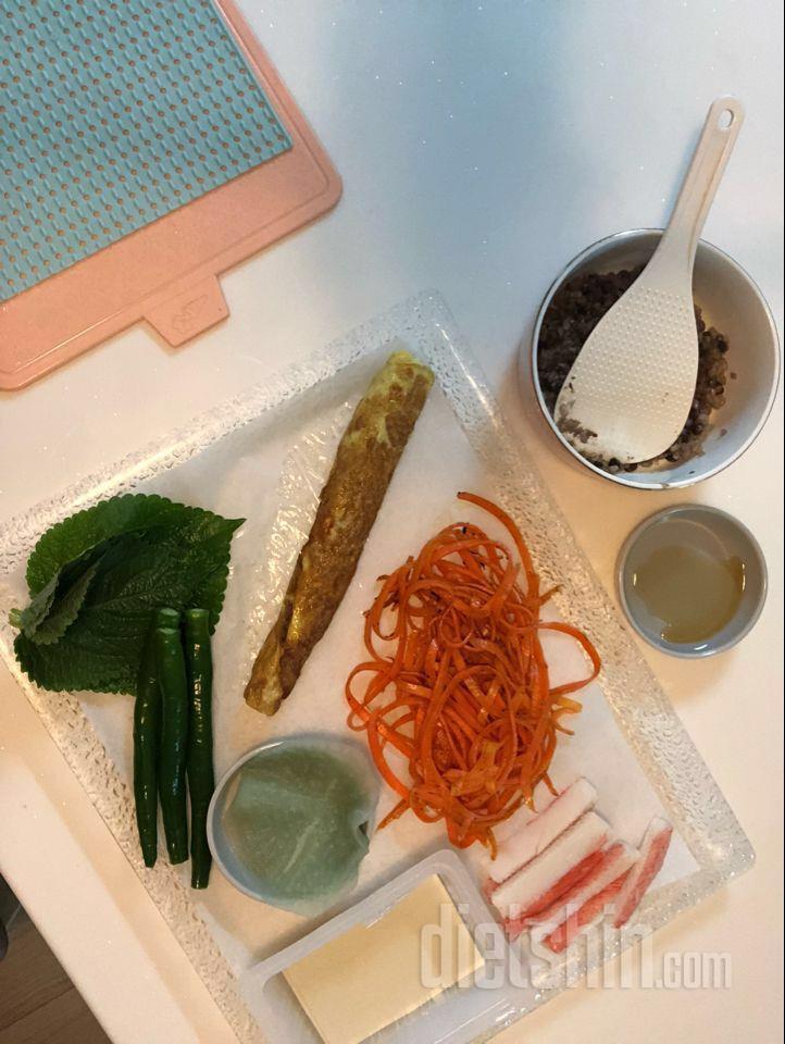 나의 최애 다이어트김밥