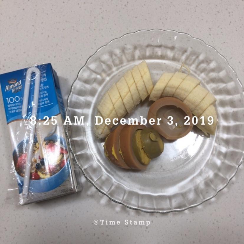 12월 03일(아침 190kcal)
