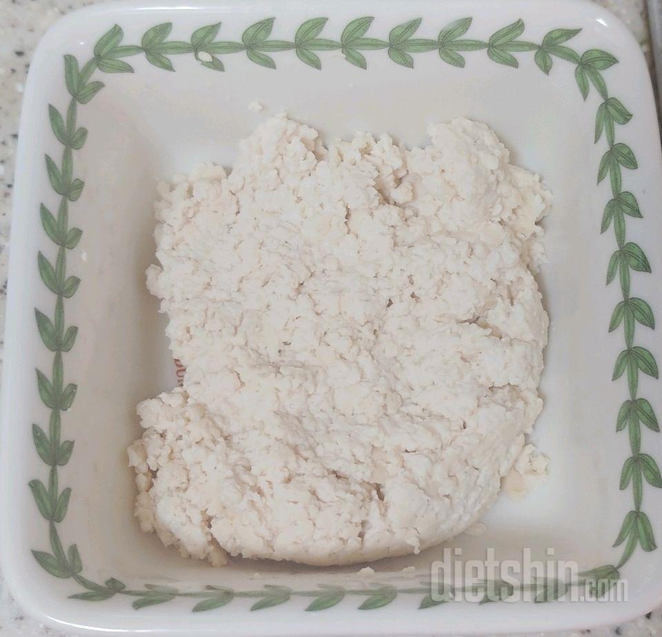 내일 먹을 리코타 치즈!