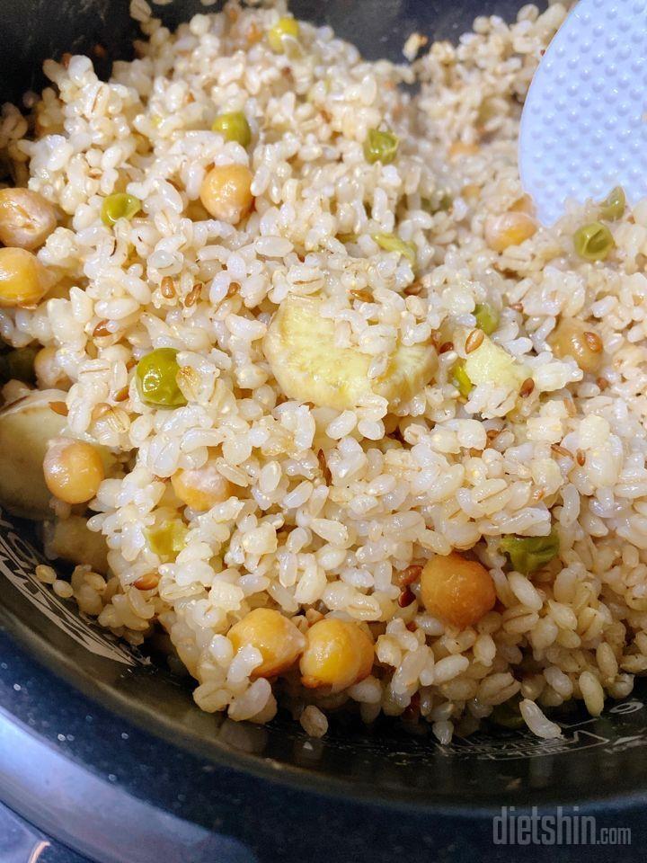 쉬는날은 잡곡밥 만드는날