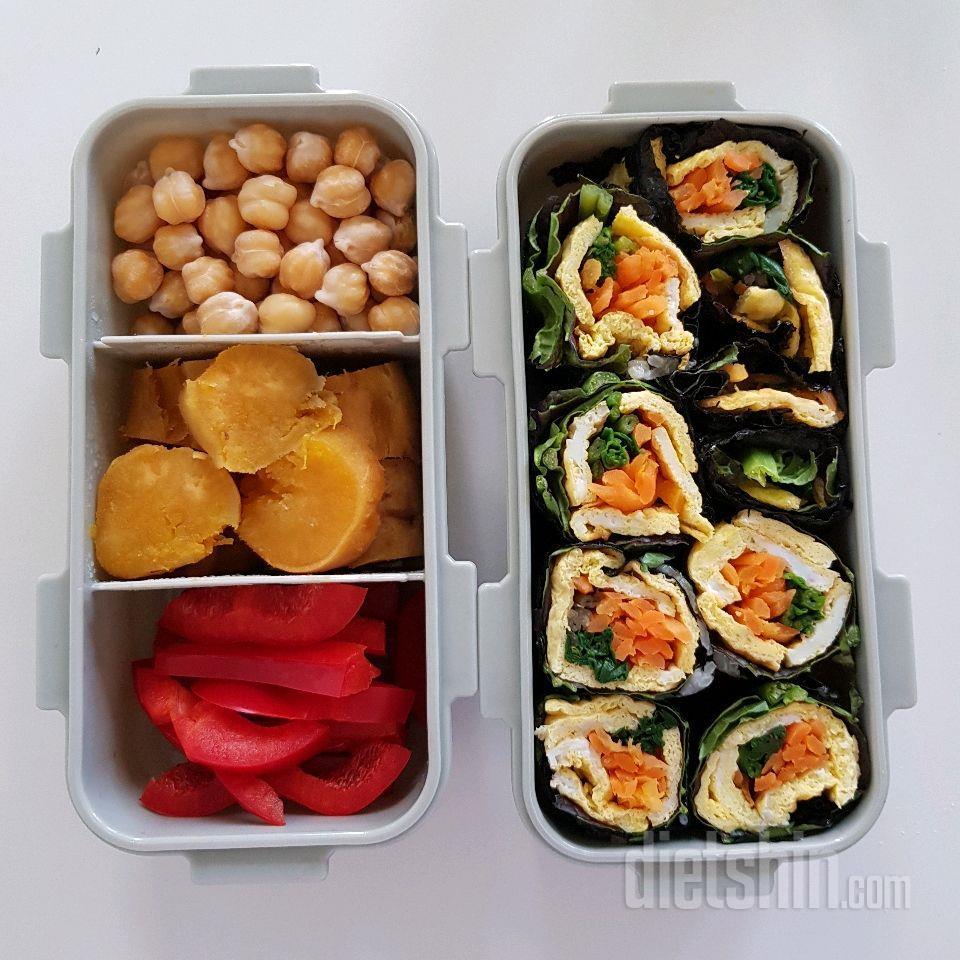 밥없은 김밥 도시락