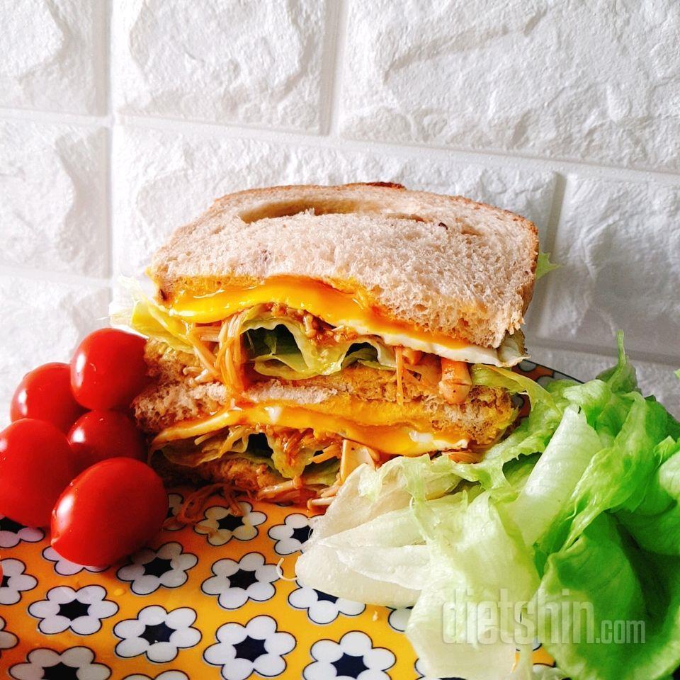 진짜 존맛탱 다이어트 샌드위치