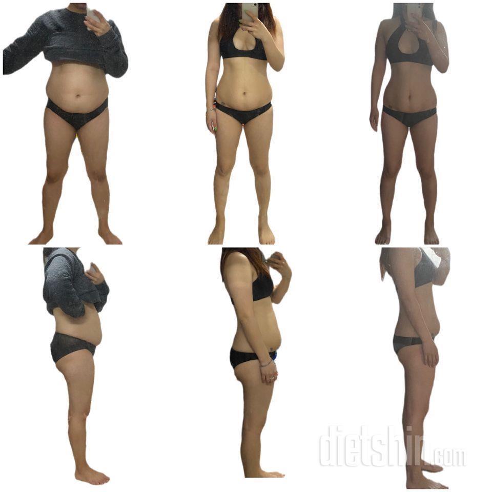 65kg 시작 54.9kg 9kg감량 한달 정체기 후 2kg 감량 총 11kg 감량 진행중