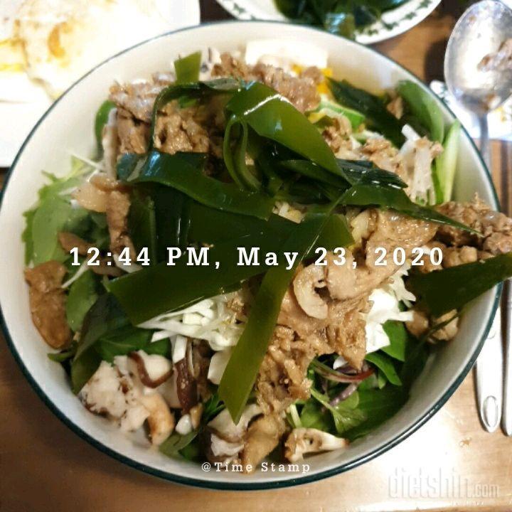05월 23일( 점심식사 399kcal)