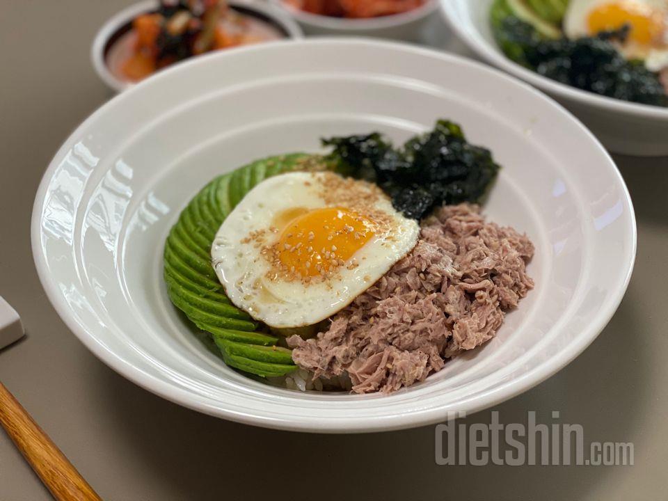 [찌니레시피] 아보카도참치덮밥