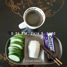 07월 08일( 저녁식사 294kcal)