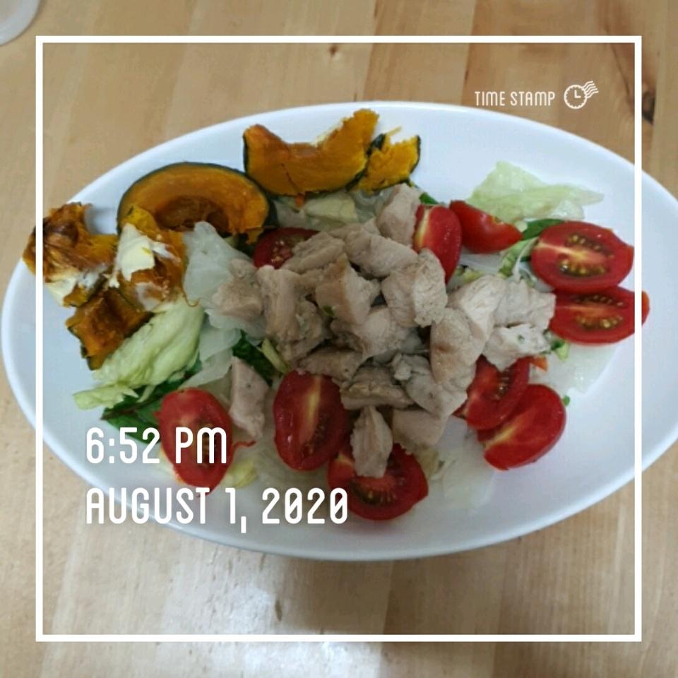 08월 01일( 저녁식사 230kcal)