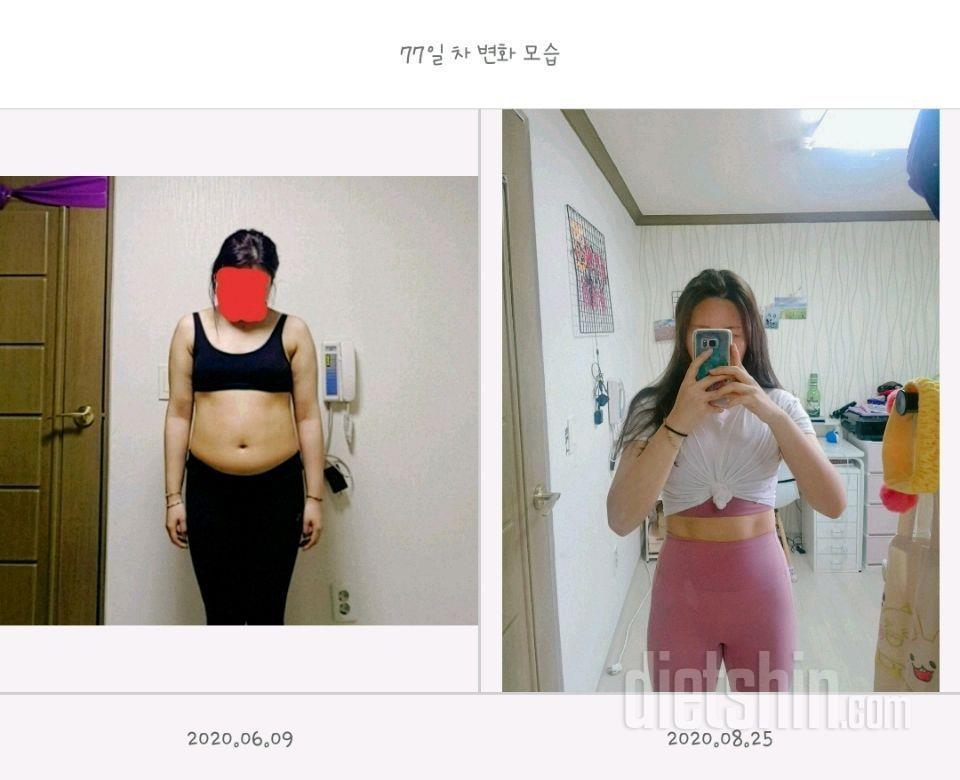 다이어트 중간점검 약 2달동안 64.8➡️58.8 총 6kg 감량 (다이어트 진행중)