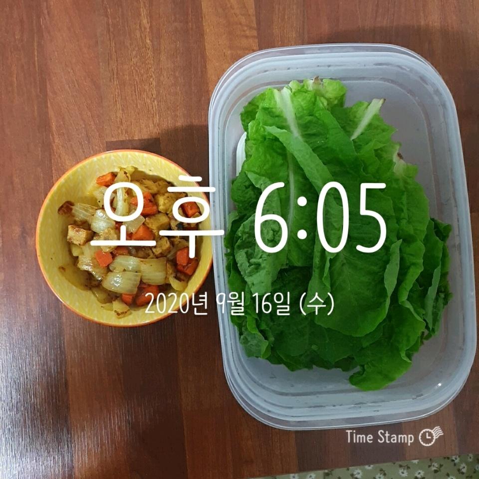 09월 16일( 저녁식사 235kcal)