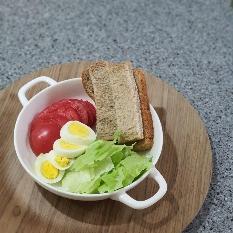 아점용 샐러드
