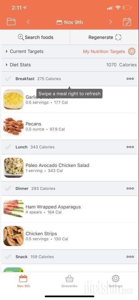 요리와 먹는 재미가 있는 app 추천요~