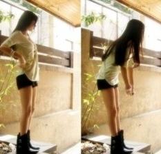 청바지를 입었을 때 이쁜 몸매가 되고 싶다!!
