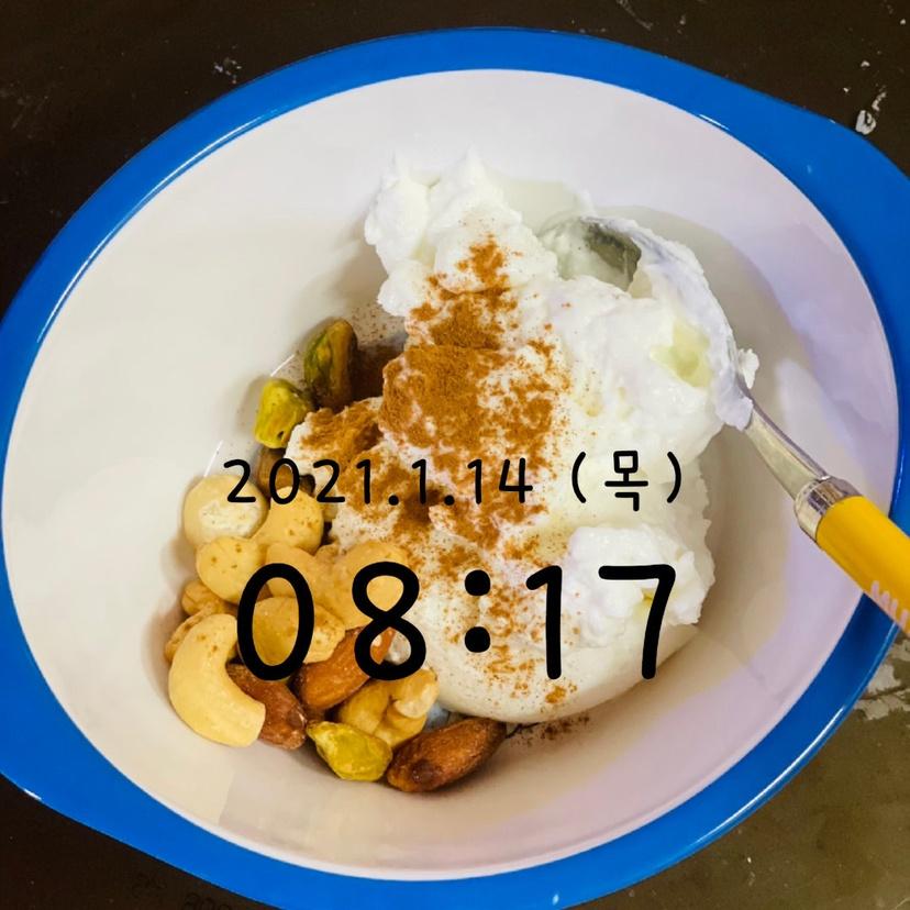 01월 14일(아침 185kcal)