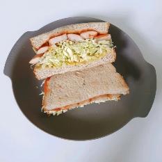 닭가슴살 소세지 토스트