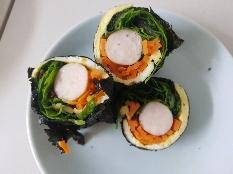 탄수화물 없는 샐러드 김밥