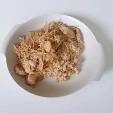 닭가슴살 버섯덮밥