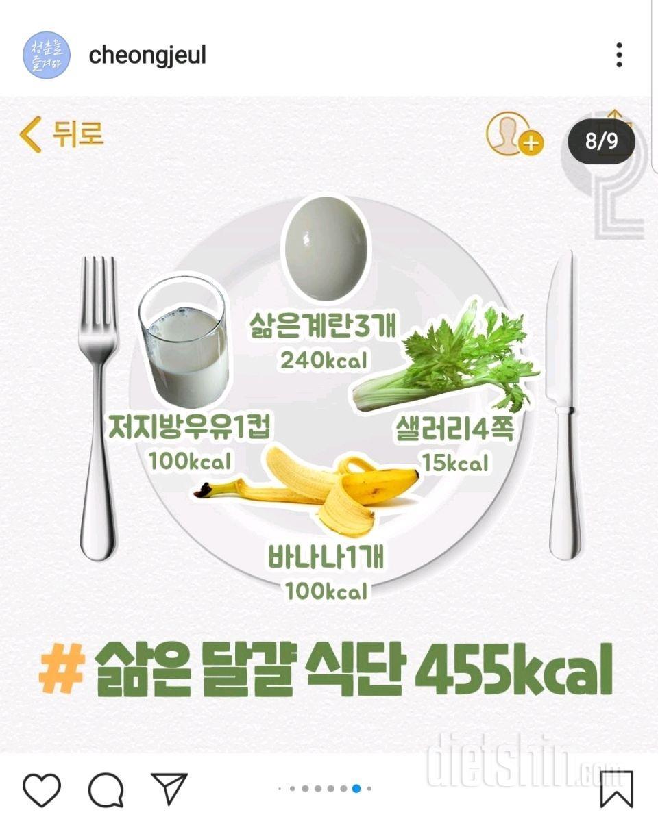 455kcal 식단