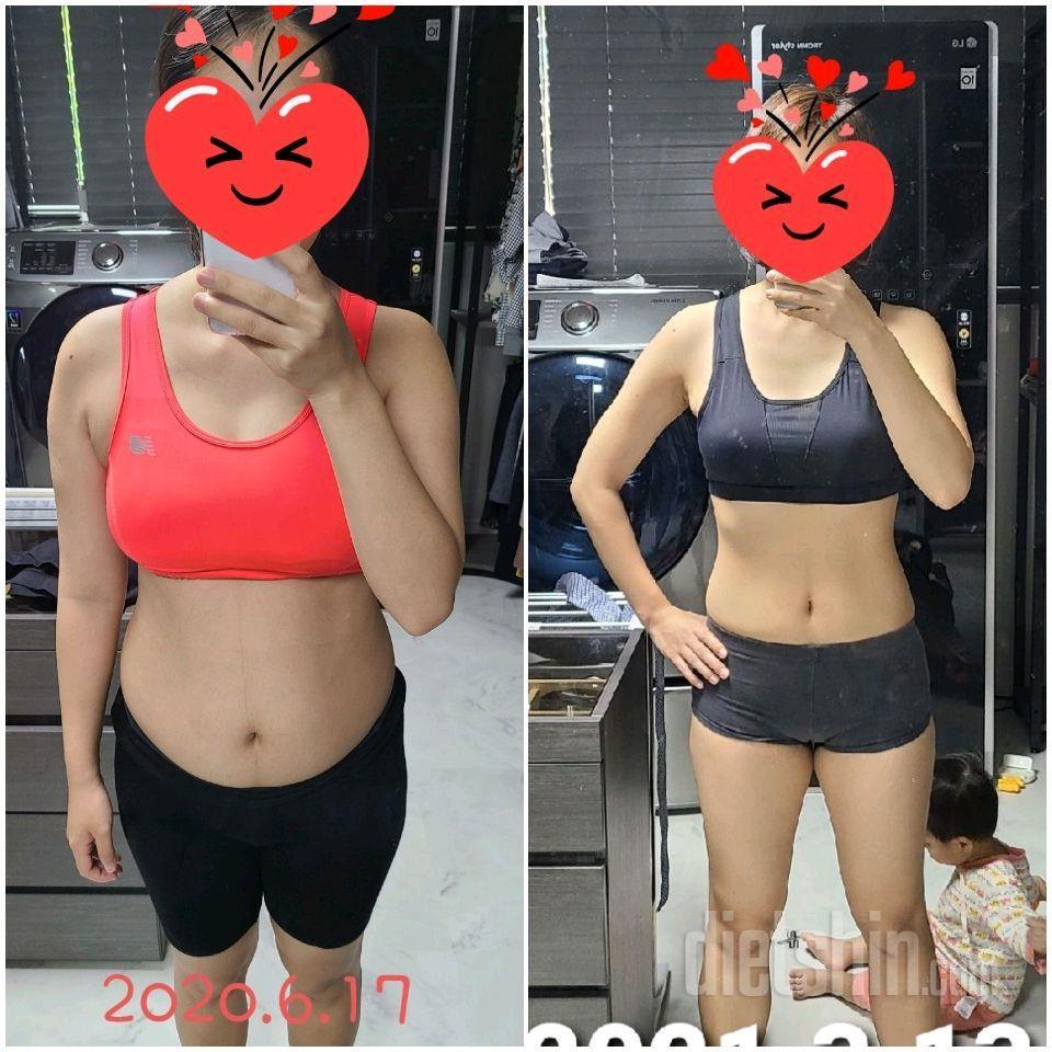 드디어 체지방 -10kg