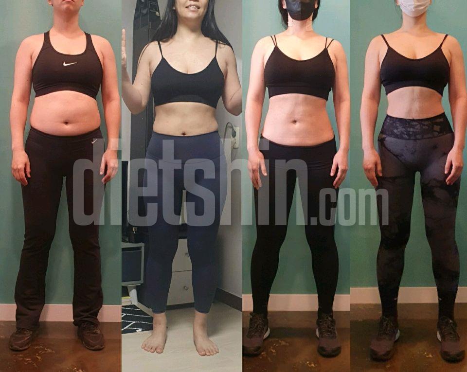 8주간의 내몸변화