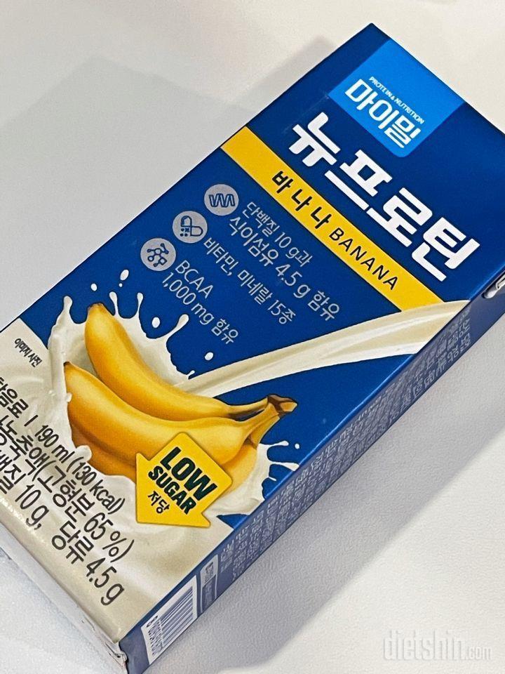 마이밀 바나나맛 프로틴 음료