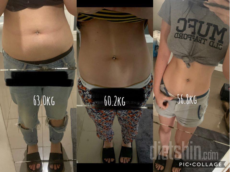 63 >\; 53kg 마지막 후기