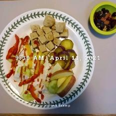 04월 11일( 아침식사 339kcal)