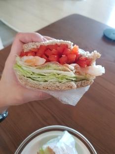 다신샵 통밀당 식빵 샌드위치