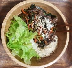 현미 비빔밥