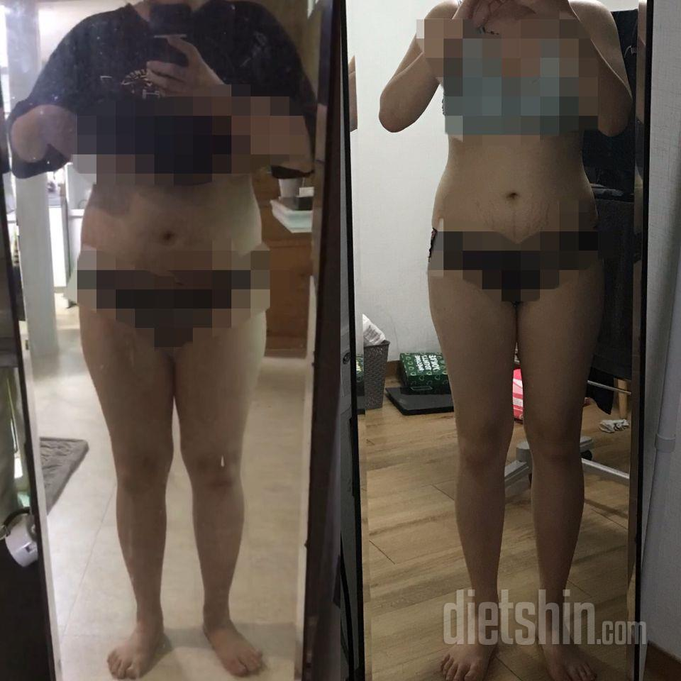 72-61kg(현재 11kg감량)