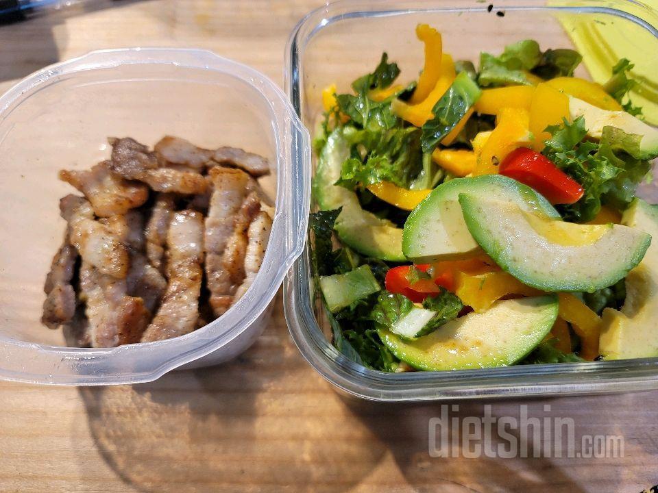 다이어트 시작 한달 후 보고서