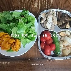 07월 25일( 저녁식사 314kcal)