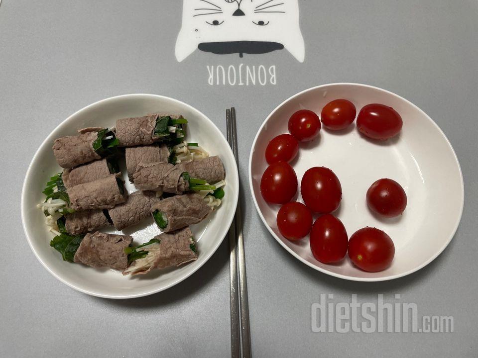 소고기야채말이