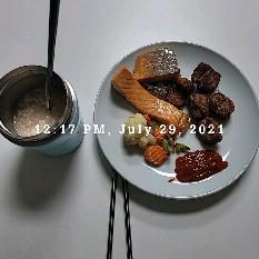 07월 29일( 점심식사 401kcal)