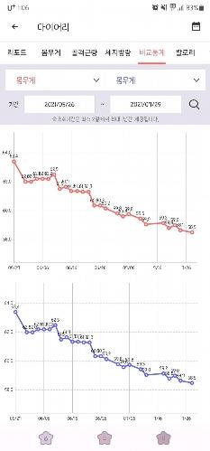 다이어트 2개월차, 5kg 감량!(운동휴식기..)