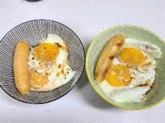 오트밀 간장계란밥