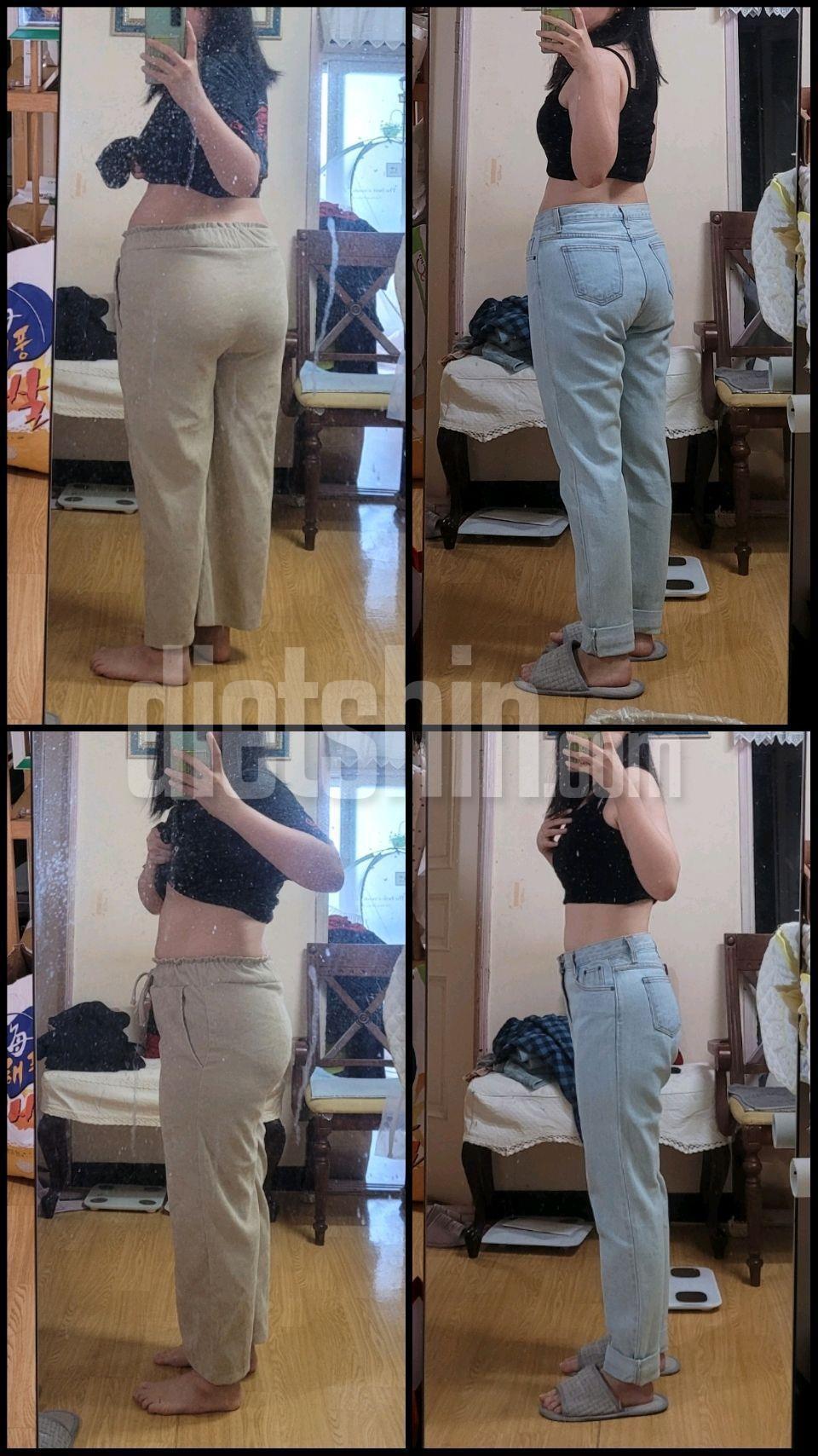 3개월간 11kg 감량 변화사진