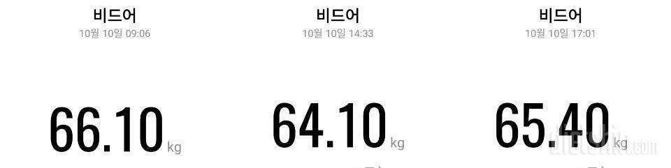 체중계 달고살기(2) - 유지기
