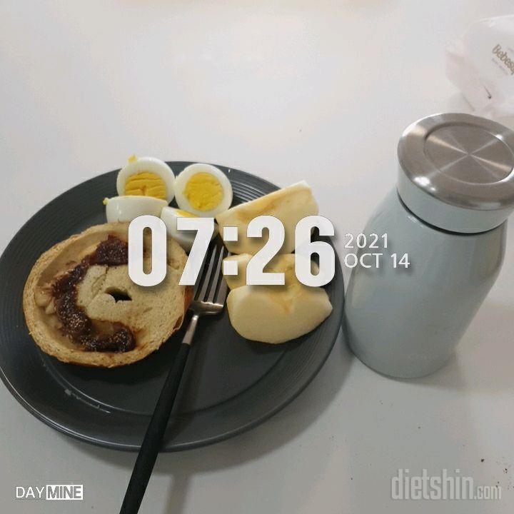 10월 14일( 아침식사 436kcal)