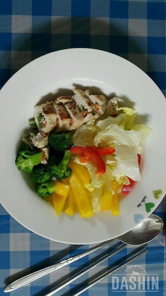 닭가슴살 야채말이