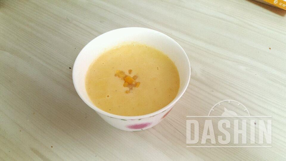 초간단 옥수수스프 만들기 ( 168 kcal)