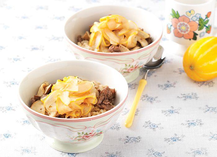 참외생채 불고기비빔밥