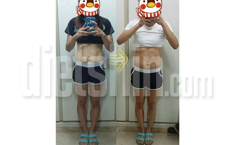 66 kg → 50.8 kg 운동으로 감량 - 별쓰로리 편