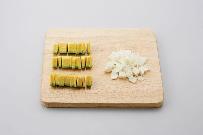 참치 애호박덮밥 레시피