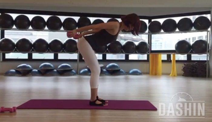 몸라인을 가꾸는데 효과적인 운동