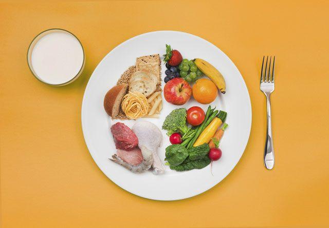 건강한 체중감량을 위한 균형있는 식단짜기!