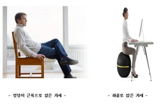 앉아만 있으면, 엉덩이가 제대로 힘을 못쓴다?