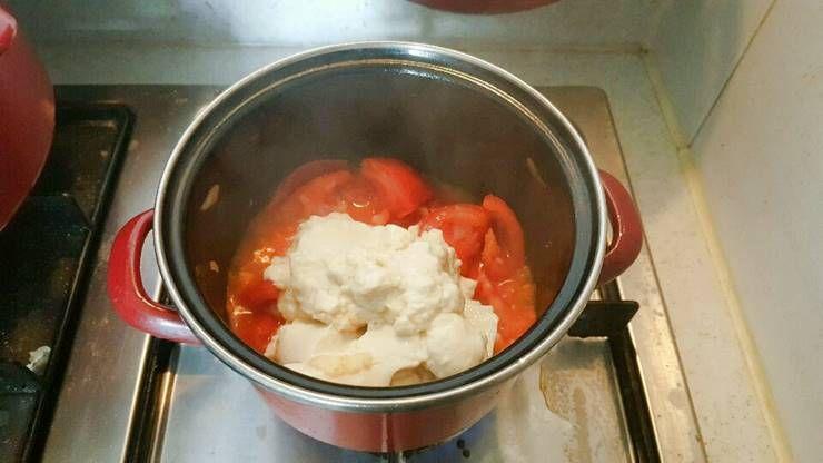 고영양 저칼로리 토마토 순두부 찌개!