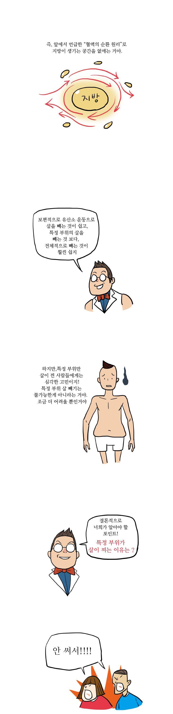 20화, 허벅지, 뱃살…왜 난 특정부위만 살이 찔까?