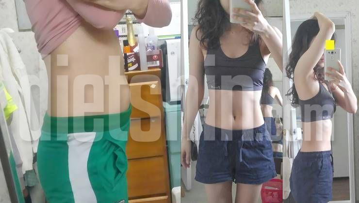 5개월만에 체지방량 10kg이하로 낮춘 감량비법!
